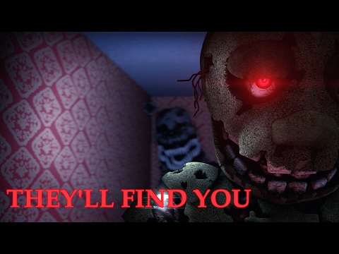 [FNAF SFM] They'll find you by Griffinilla