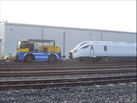 Shunting Mule at Hitachi Factory