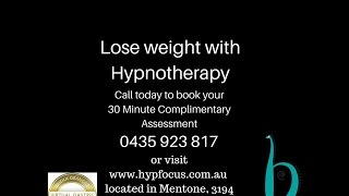 Weight Loss Hypnotherapy Melbourne Hypnosis
