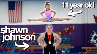 KID vs ADULT All Star Gymnastics Challenge ft Shawn Johnson