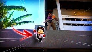 MINECRAFT NA VIDA REAL #3 - WIIZINHO CAIU DO SEGUNDO ANDAR E QUASE MORREU!!! [ WIIFEROIZ ]