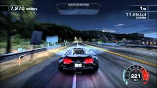 NFS Hot Pursuit (2010) Racer Final Mission Seacreast Tour (With Ending Credits)