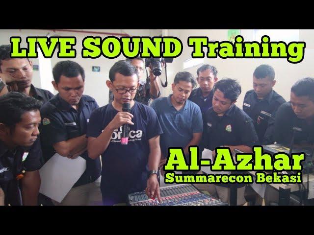 LIVE SOUND TRAINING Sekolah Al Azhar Summarecon Bekasi oleh ArtSonica