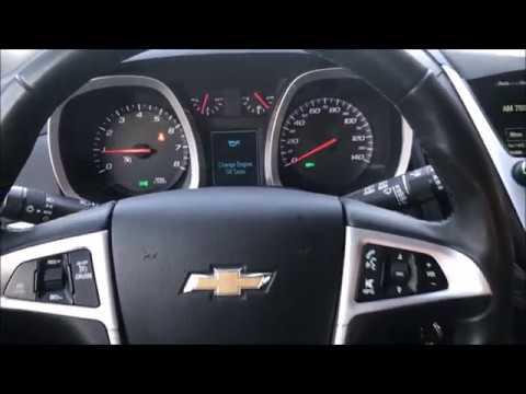 2010 2016 Chevrolet Equinox Oil Light Reset Youtube