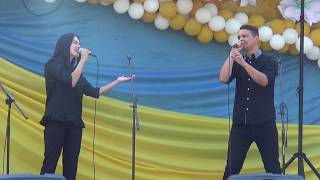Анжеліка та Максим Проценко - Моя Україна, велика родина, 12.07.2019