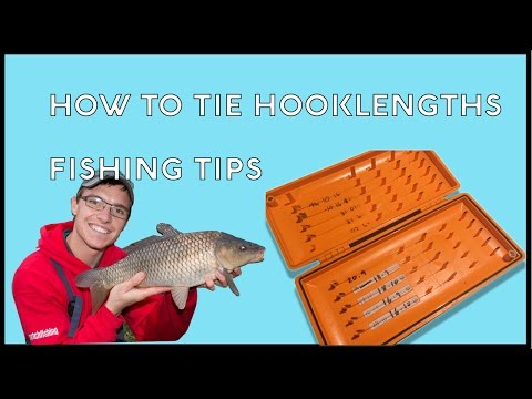 How To Tie Hooklengths - Fishing Tips