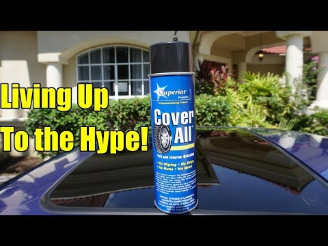 Cover All Tire Shine Review on my Honda...
