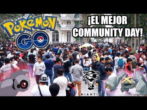 ¡NIANTIC EN LIMA PERÚ!¡COMMUNITY DAY BELBUM SHINY! ¿100%IV? METAGROSS | Pokemon GO thumbnail
