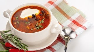 видео Суп-солянка - рецепт