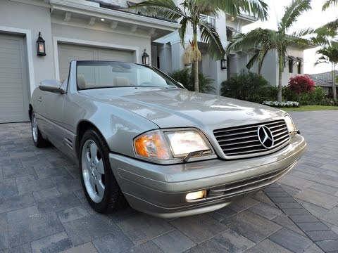 1999 mercedes benz sl500 roadster for sale by auto europa. Black Bedroom Furniture Sets. Home Design Ideas