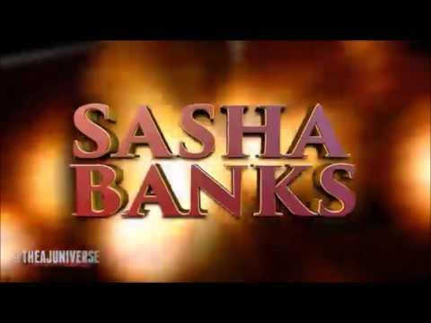 Sasha Banks with Eve Torres' Theme Song 2nd Version