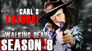 The Walking Dead Season 8 - Chandler Riggs Comments on Carl's Future!
