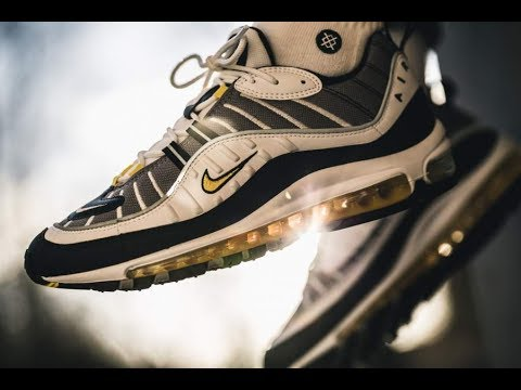 7d76d822ea Anniversary Fearless 90's vs Tour Yellow | Unboxing Nike Air Max 98