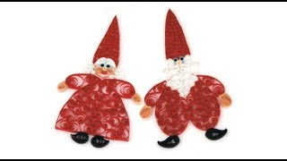 Mr. & Mrs. Santa QUILLING