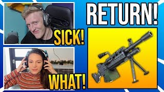 "Streamers React To *OP* ""LMG"" Coming BACK To Fortnite"