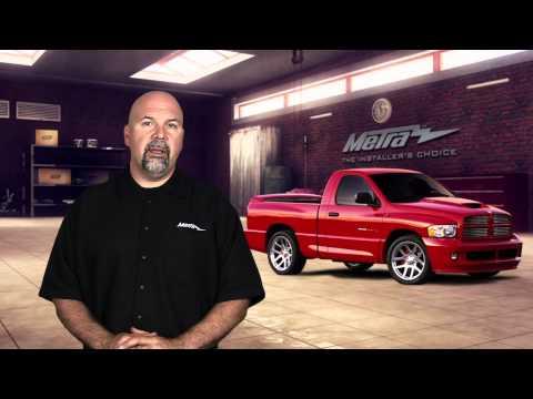 Metra Dodge Ram Double-DIN Dash Kit 95-6522B