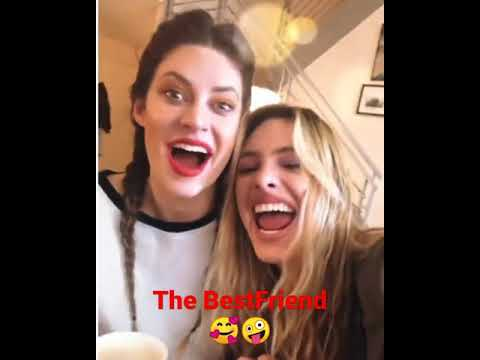 Lele Pons  y Hanna …😆😅  #thebestfriends