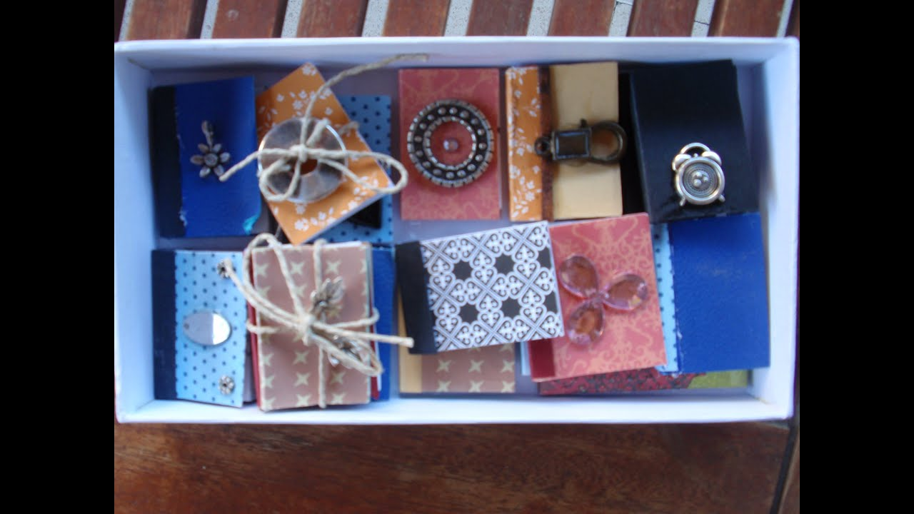 How To Decorate With Books easy miniature books (how to make them and how to decorate them