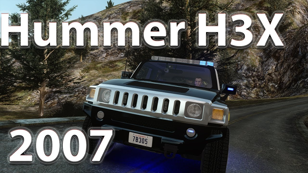 GTA IV mods - Hummer H3X 2007 LC Police Edition [ELS][DOWNLOAD] - YouTube