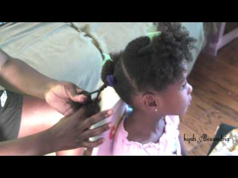 Methods for Doing a Rope Twists~Kids Natural Hair~#3