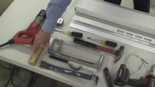Installing a Door Jamb Repair Kit
