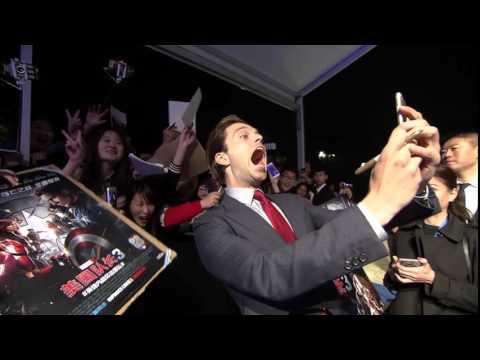 Captain America: Civil War: Beijing China Red Carpet Movie Premiere - Team Captain America