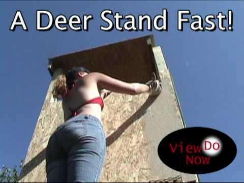 A Minnesota Deer Stand Built Fast!