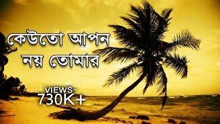 কেউতো আপন নয় তোমার- Bangla Islamic song। bangla gojol