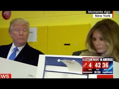 Why Did Trump Sneak A Peek At Melania's Ballot?