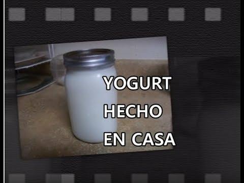 YOGURT SABOR NATURAL - COMO HACERLO FACIL - receta casera - Lorena Lara