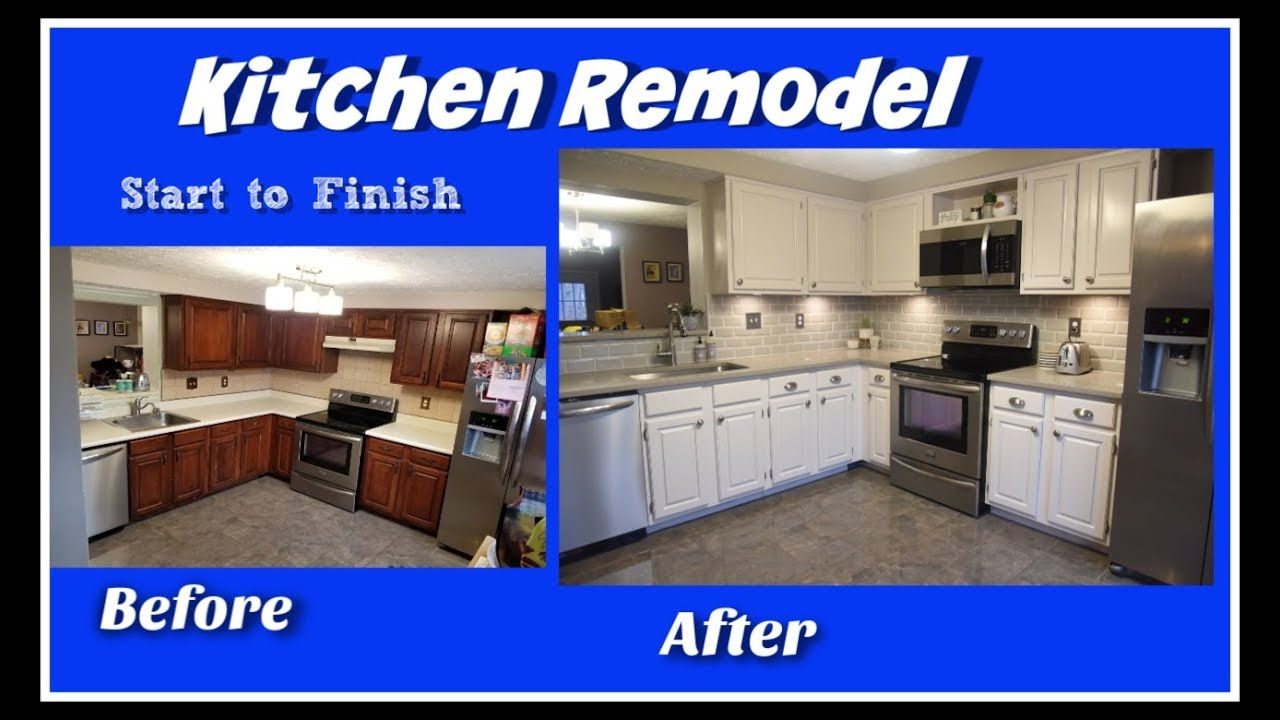 Kitchen Remodel Timelapse Start To Finish You