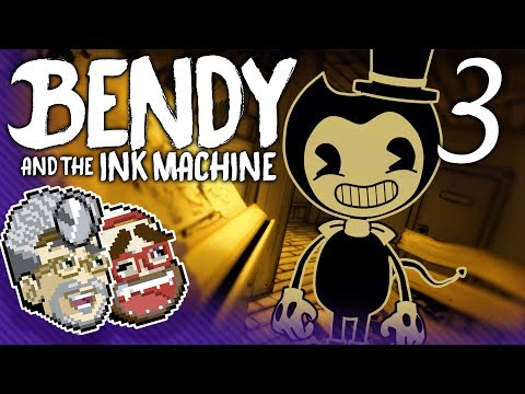 ATTACK OF THE BLOBS!    Bendy and the Ink Machine [#3]   Press On