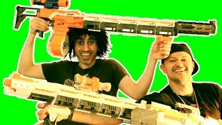 BIG BAD NERF GUNS!! thumbnail