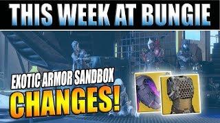 Destiny 2 News | Summer Update 1.2.3 - Exotic Armor Sandbox Change Previews!