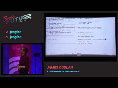 James Coglan - A language in 20 minutes (FutureJS 2014)