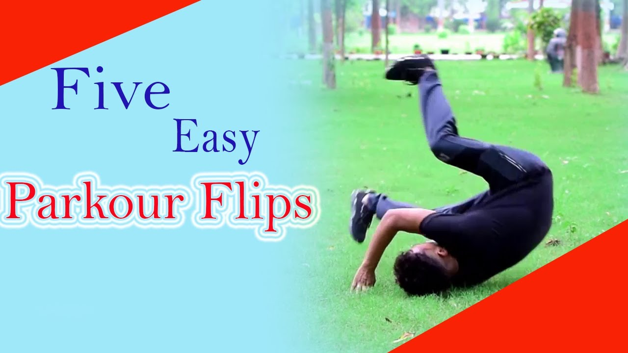 Five Easy Parkour Flips   Anyone Can Do It