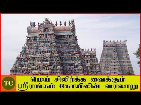 மெய் சிலிர்க்க வைக்கும்  ஸ்ரீரங்கம் கோயிலின் பிரம்மாண்ட வரலாறு | History of Srirangam Temple