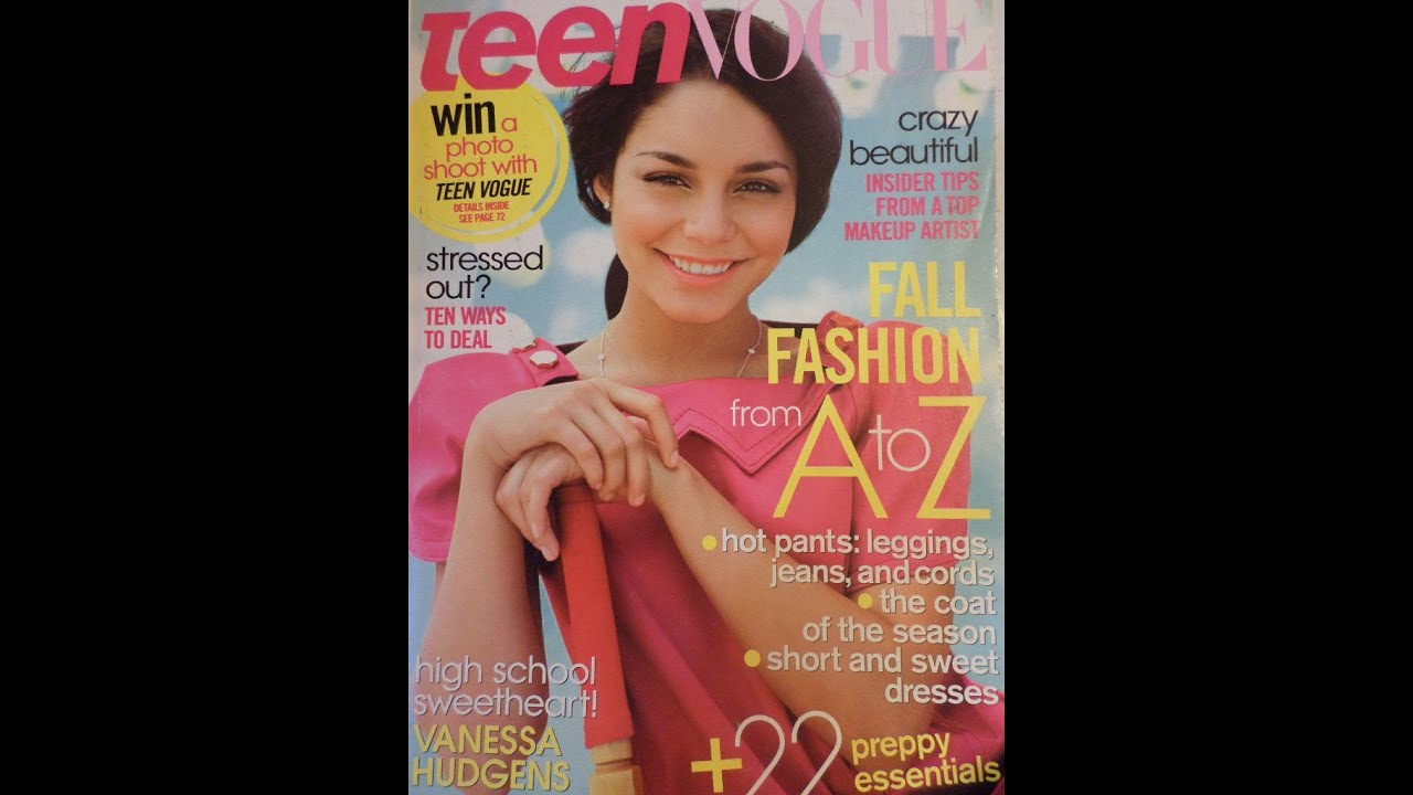 Media review of teen magazine