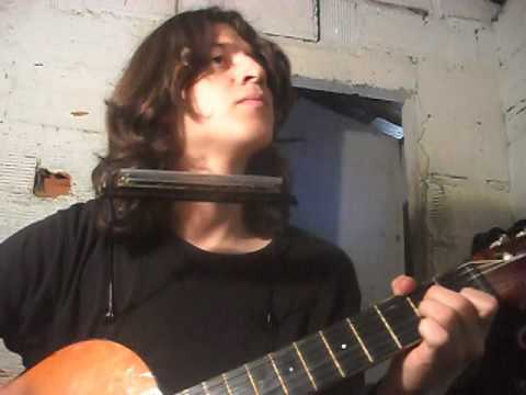 """Red Hot Chili Peppers """"Californication"""" (harmonica and guitar) cover"""