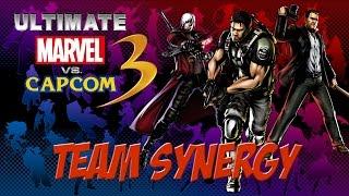 UMvC3 - Chris, Frank West, Dante Team Synergy