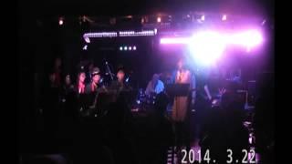 今井美樹セッション ラブスコール 2014年3月22日 肥後橋VOXXにて。
