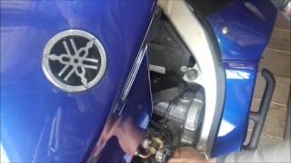 Неровная работа двигателя Yamaha FJR1300,и как я её устранял.