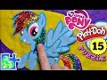 MY LITTLE PONY PLAY-DOH PUZZLE: RAINBOW DASH GLITTER EDITION! Like Magic! MLP #15