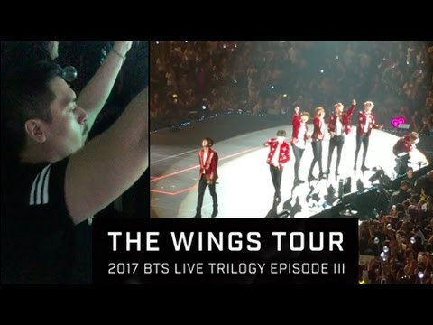 BTS IN NEWARK | My BTS The Wings Tour Experience! + Giveaway!