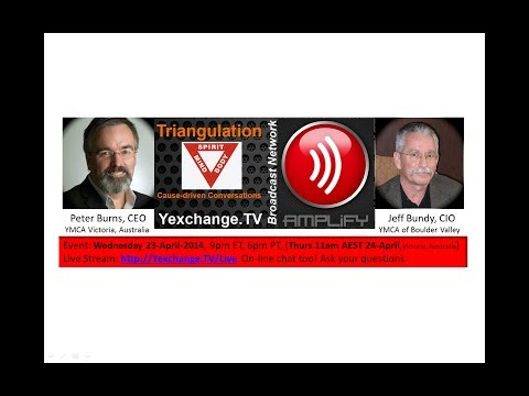 Triangulation: Peter Burns, CEO, YMCA Victoria, Australia