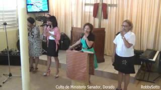 Portador De Tu Gloria  ---Hna. Mariel y el fondo coral Dorado