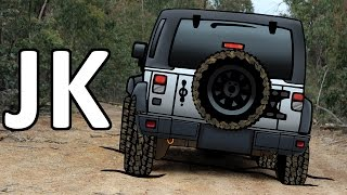 Drawing a Jeep Wrangler JK