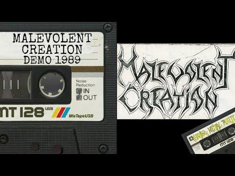 📼Malevolent Creation Demo 1989📼 80's Death Metal Full Album