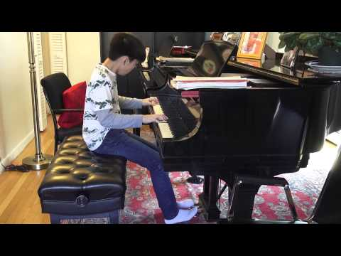 Chopin Revolutionary Etude Op 10 No 12 by Andrew Li 14