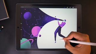 Explorer ✨ Digital Art with iPad Pro
